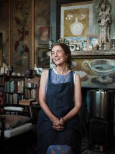 Set designer Tess Newell in Duncan Grant's Studio